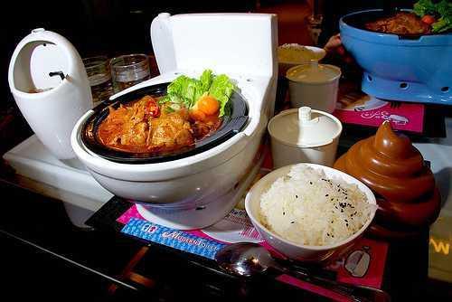 Les Restaurants «Toilette Moderne» arrivent en Chine