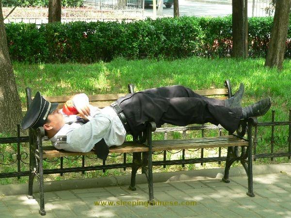 La sieste des chinois