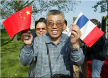 Les touristes chinois aiment Louis Vuitton