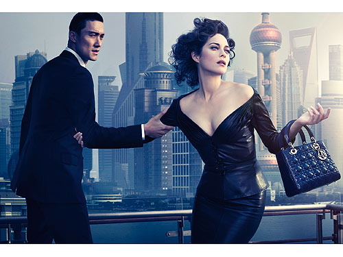 Dior et sa Lady Blue à Shanghai