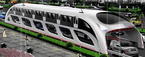 Un bus révolutionnaire «create in China»