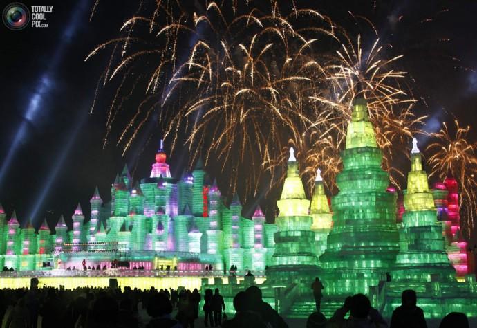 Le festival de Glace de Harbin