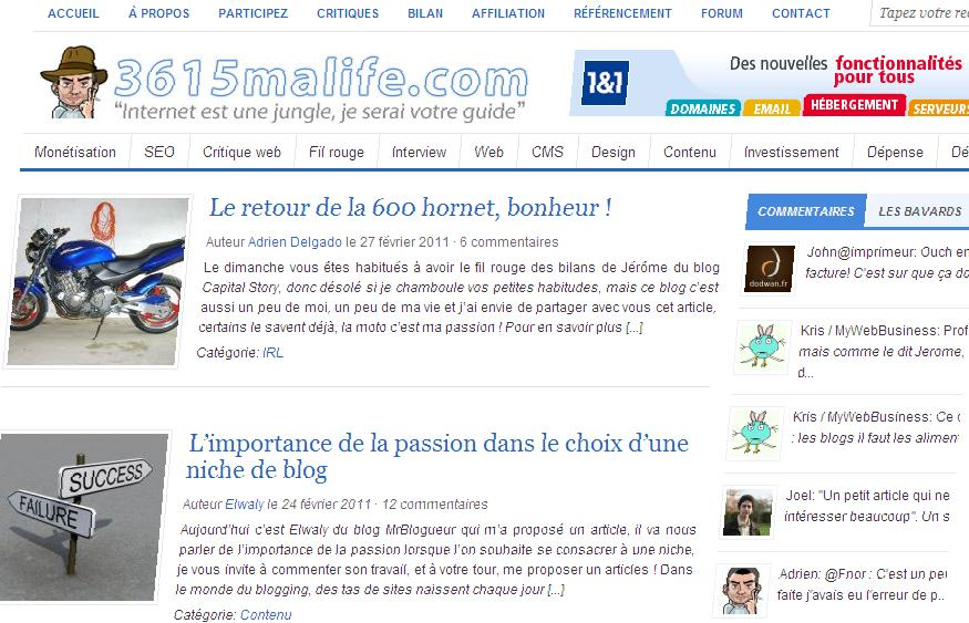 Interview du blog 3615maLife