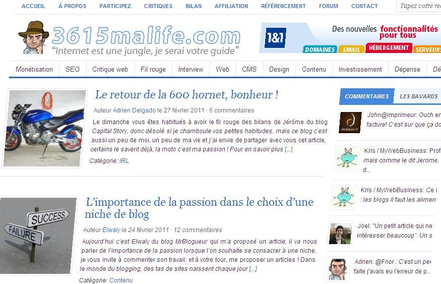 Interview du blog 3615maLife