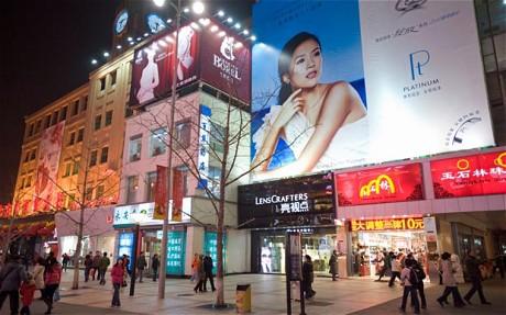 Les Publicités pour le Luxe bannies de Pékin