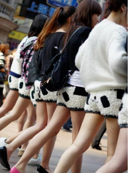 Les shorts Panda