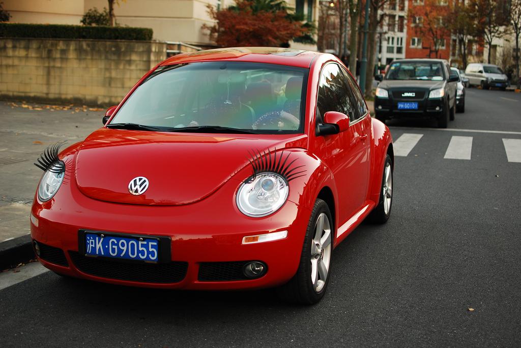 Les Faux cils pour voiture en Chine