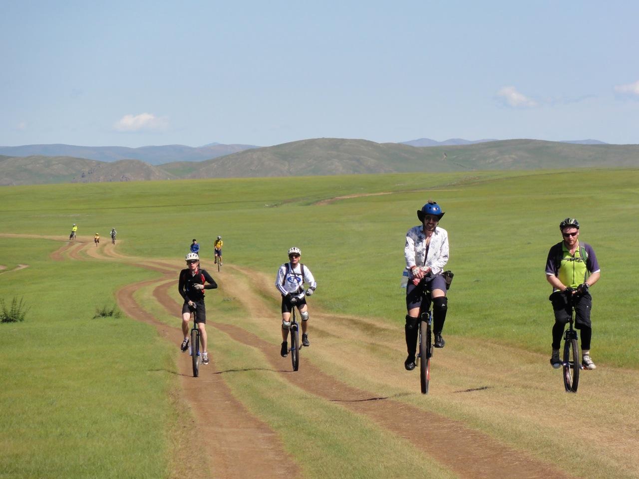 balade en Mongolie