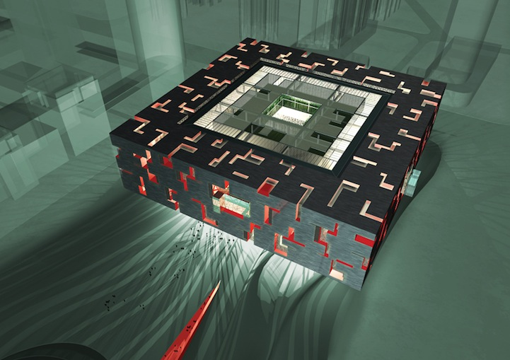 le New Guangdong Provincial Museum de Guangzhou