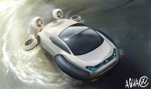 Aqua Volkswagen projet d'un jeune chinois