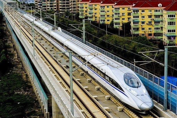 Le train Pekin Shanghai