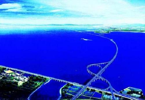 Le pont le plus long du monde est Chinois