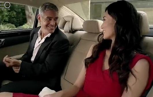 Mercedes: le rendez vous de Georges Clooney et une modèle chinoise