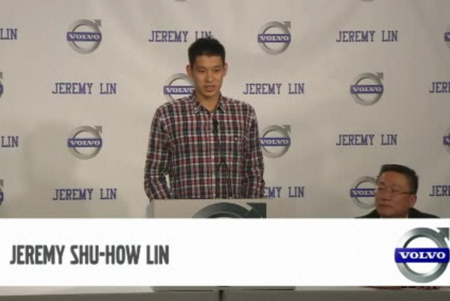 Jeremy Lin Brand Ambassador de Volvo
