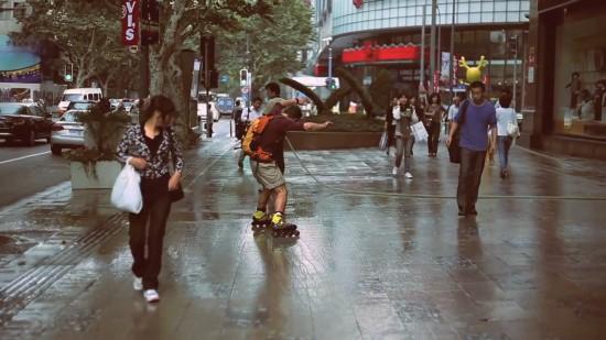 Le tour de Shanghai par Seba Skates