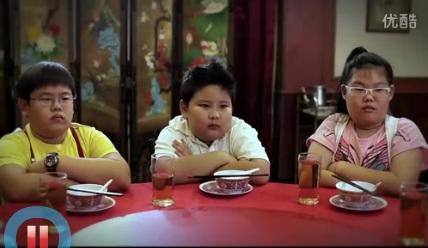 Une publicité Thai: la bataille de la table Chinoise
