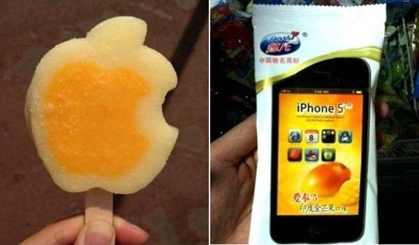 La glace Iphone 5 vient de sortir en Chine