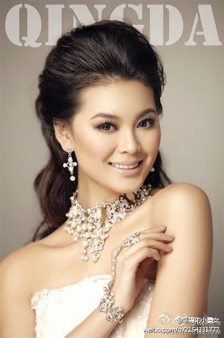Photos de Wenxia Yu, Miss Chine et Miss monde