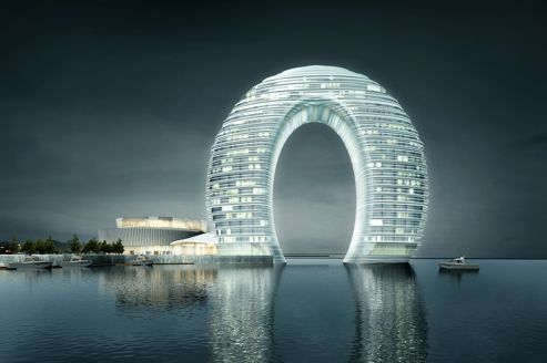 Le nouveau design de l'hôtel Sheraton en Chine