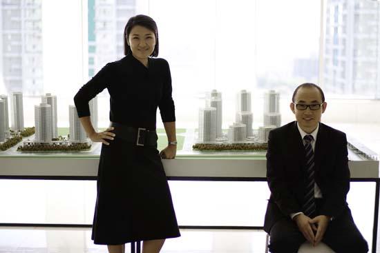 Le couple mythique de SOHO China, symbole de l'immobilier chinois