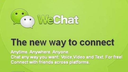 WeChat dépasse Twitter & Skype
