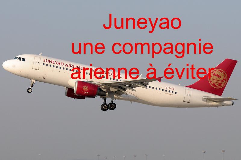 Juneyao Airlines : à éviter à tout prix