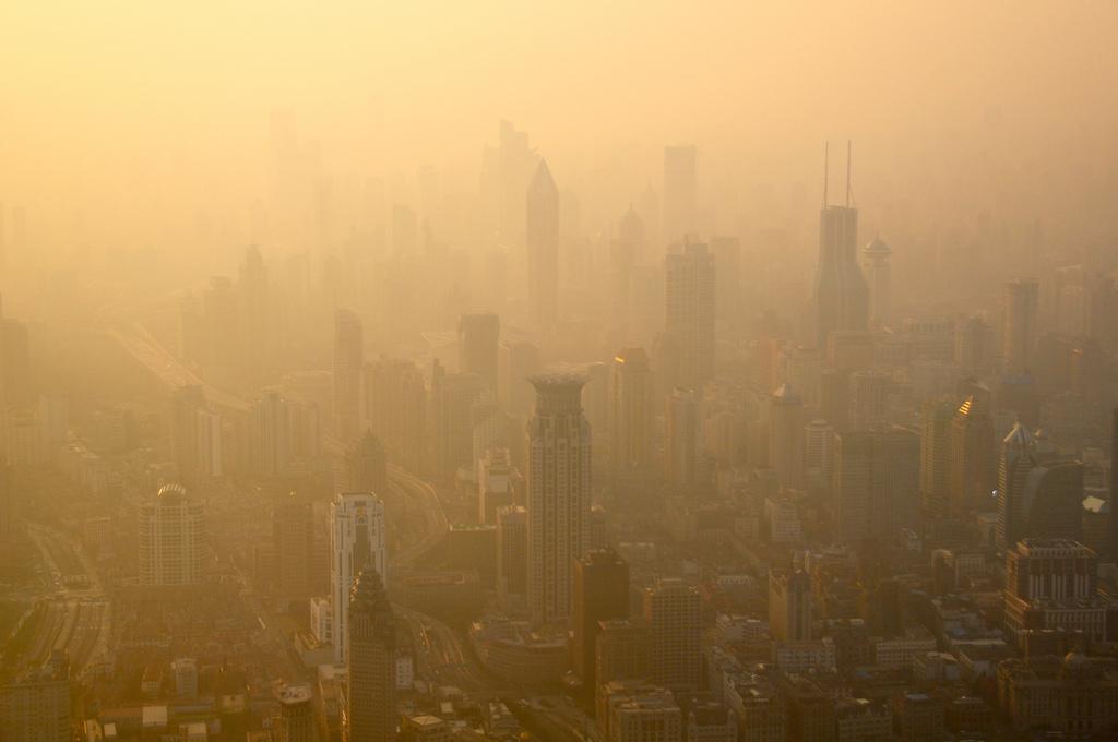Pollution: Alerte rouge à Shanghai