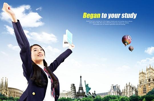 Augmentation du nombre d'étudiants chinois partant étudier à l'étranger