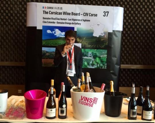Interview de Vincent Cervoni, ambassadeur des vins de Corse en Chine