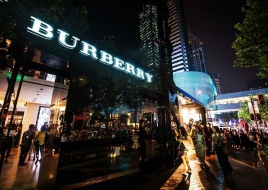 Burberry ouvre une boutique sur Tmall !