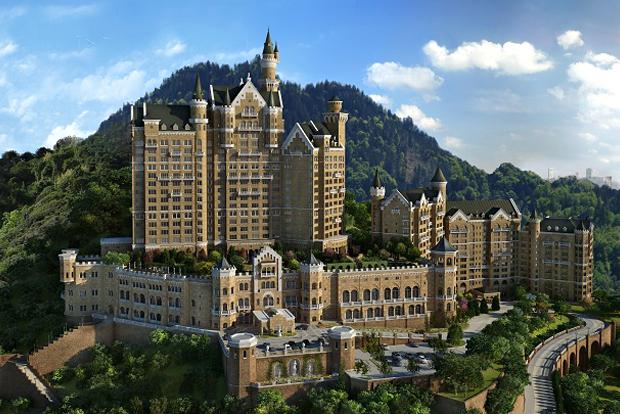 Il était une fois… un gigantesque château allemand à Dalian