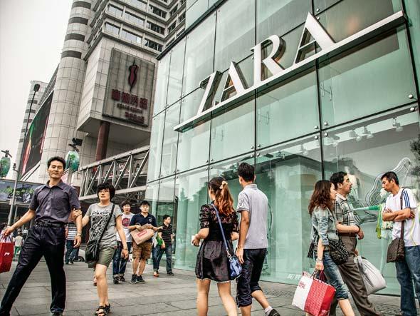 La stratégie de Zara en Chine se redessine