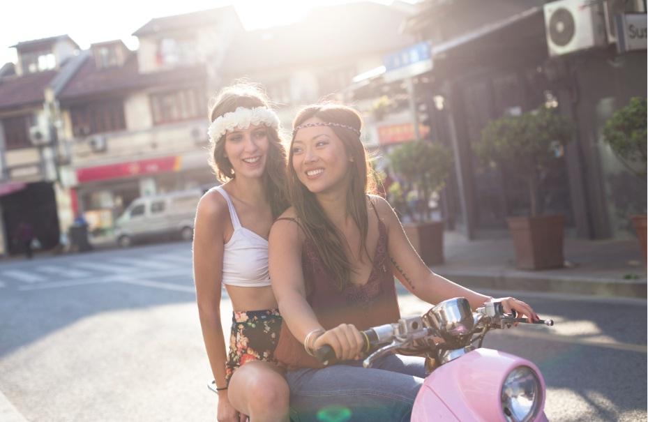 Interview des petites Shanghaiennes, marque de headband féminins