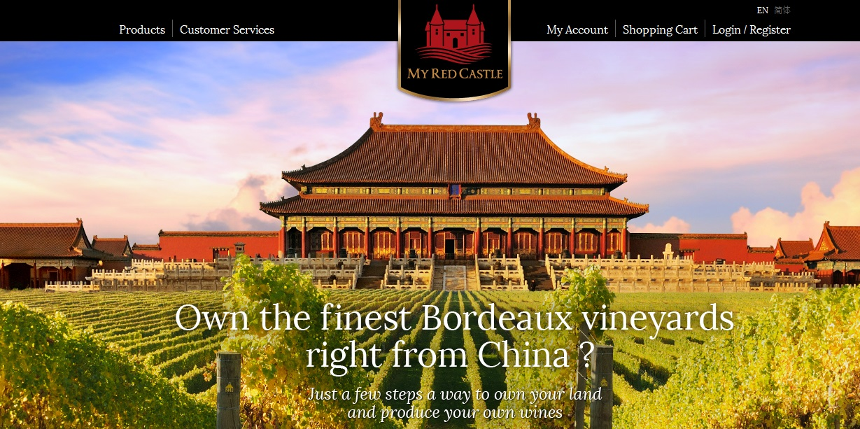 My Red Castle, la start-up qui devrait révolutionner le monde du vin en Chine