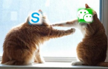Wechat le nouveau concurrent de Skype