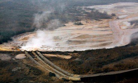 L'industrie du Smartphone en Chine a pollué un lac entier