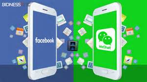 Facebook versus WeChat
