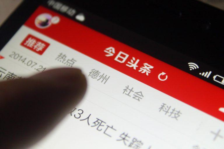 Toutiao, le Réseau Social Chinois qui Monte