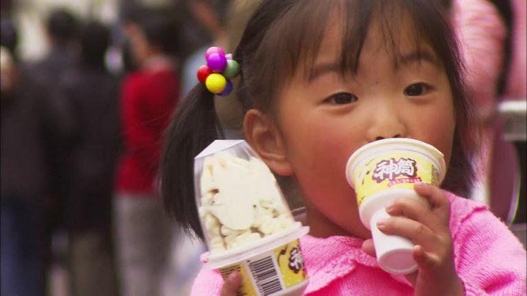 Le marché des glaces en Chine : la passion pour les marques !