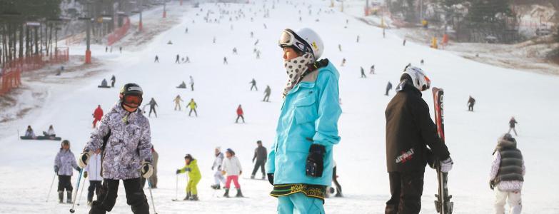 consommateurs chinois ski