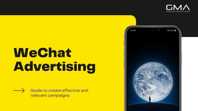 Guide de la Publicité sur WeChat