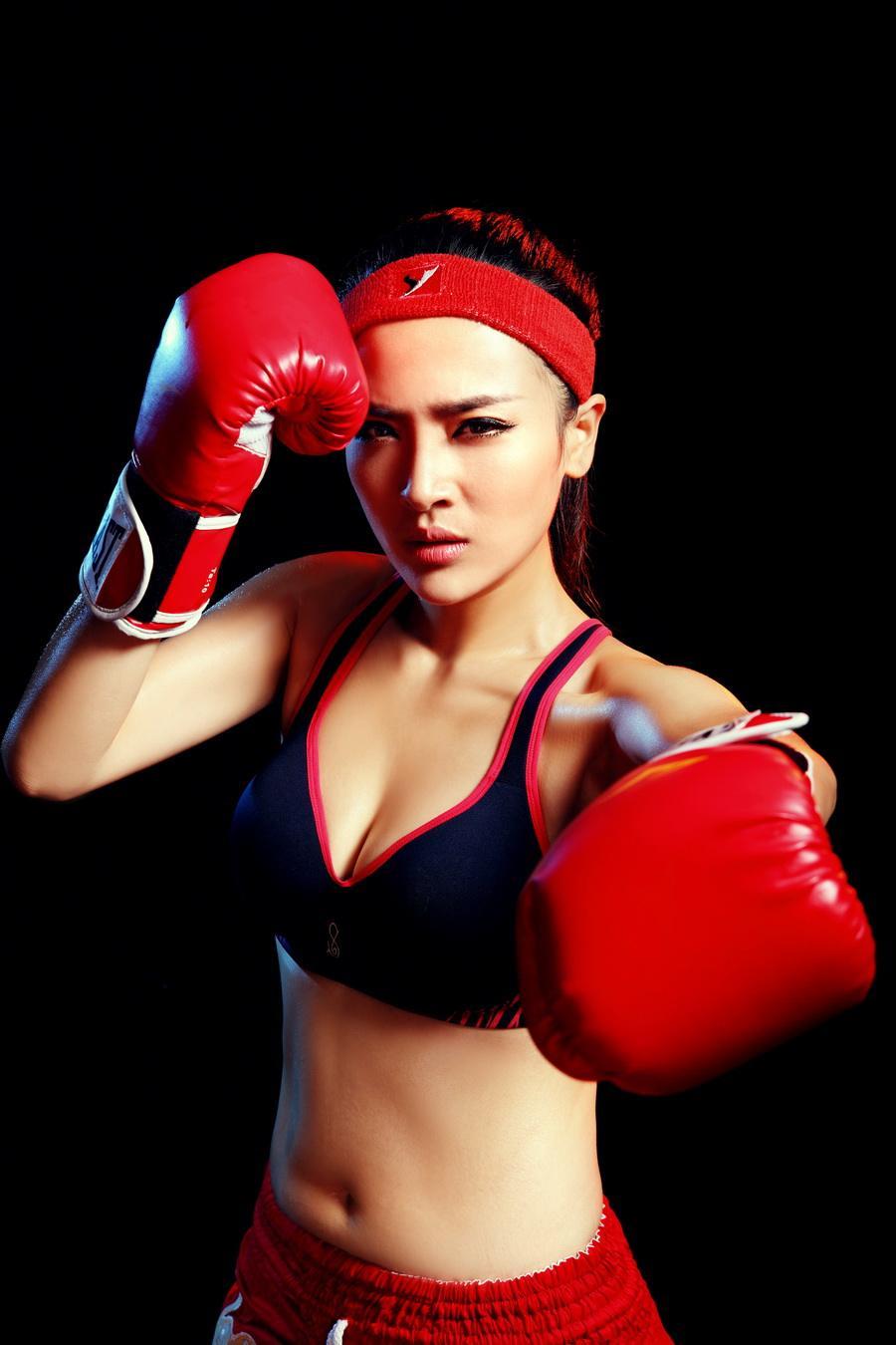 boxe féminine chine