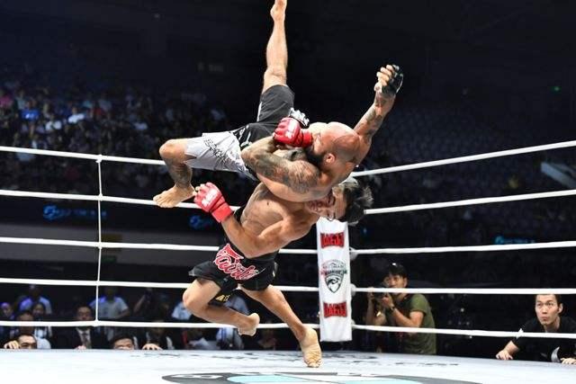 MMA en Chine