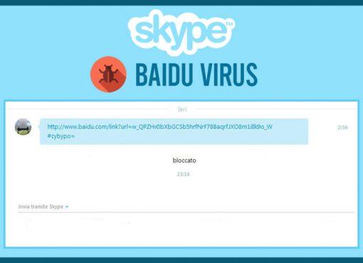 Les résultats de recherche de Baidu utilisés par des hackers sur Skype