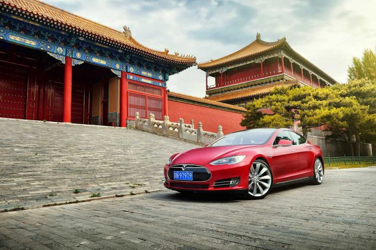 Tesla ouvre un Tmall en Chine