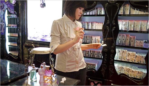 Marques de parfum, c'est le moment de vous lancer en Chine