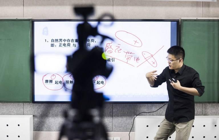 L'enseignement en ligne en Chine, une industrie lucrative qui attire les jeunes diplômés
