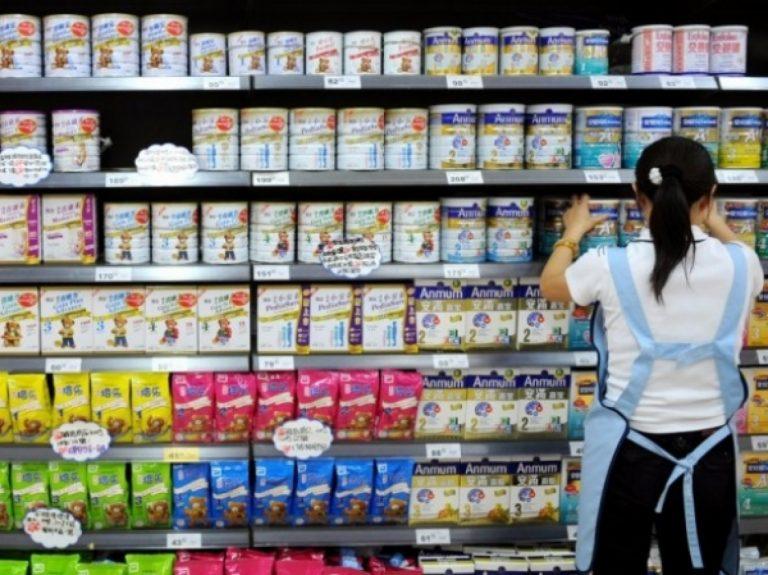 Le lait infantile bio en Chine, Top des ventes en Chine sur les sites de Crossborder e-Commerce