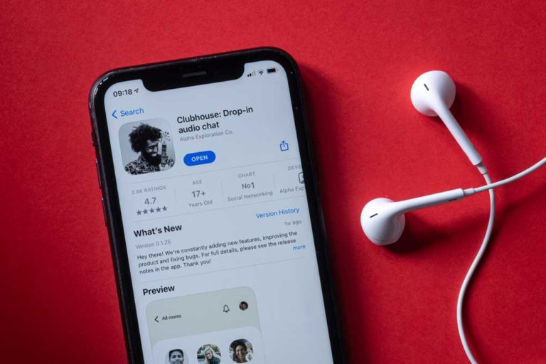 La suspension de l'application sociale audio version chinoise de ClubHouse