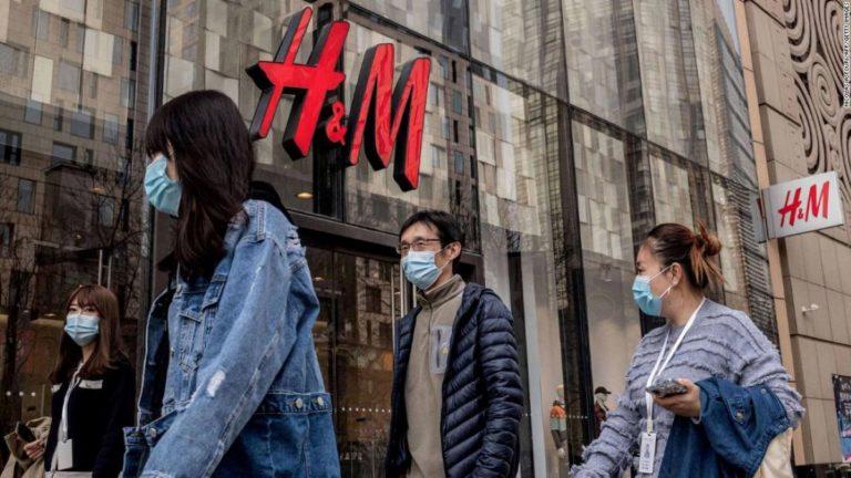 H&M sous la polémique en Chine